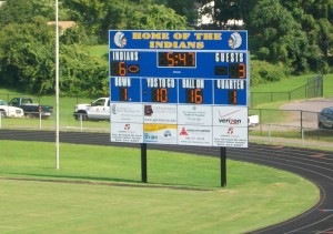 Central High School Scoreboard